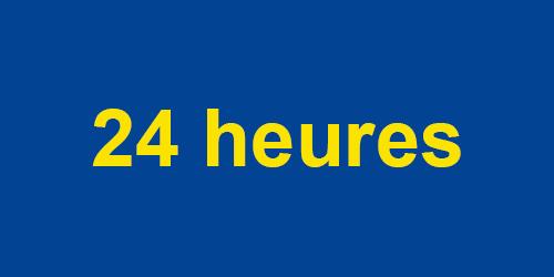 Service 24 à 48 heures