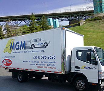 Service limité à la région de Montréal